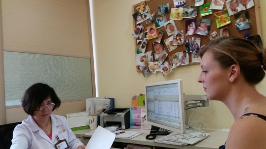A routine visit with Dr Chen